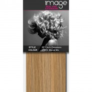 """26"""" Clip in Human Hair Extensions - #27/613 Blonde Mix"""